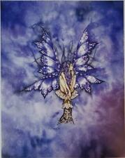 Amy Brown Blue Fairy Ii Collectible Postcard Art Print *Mint