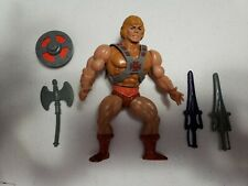 He Man Action Figure 1981 Masters of the Universe He-Man MOTU with weapons