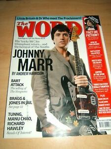 The Word Magazine Issue 55 September 2007 featuring Johnny Marr