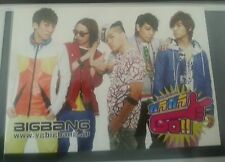 YG Big Bang Gara Gara Go! Japan JP Official  Postcard kpop K-pop + freebies