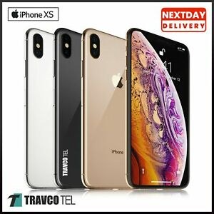 ⭐⭐ Apple iPhone XS 64GB 256GB - Unlocked SIM Free Smartphone Various colours