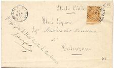 P3977    Firenze, BARBERINO di MUGELLO annullo numerale a punti 1877