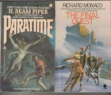 Books X3: Paratime: The Final Quest: Imaro II: Quest For the Cush: Various KAA