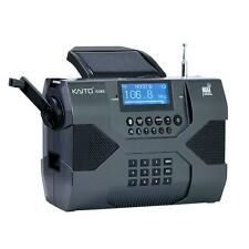 Kaito Ka900 Digital Solar Crank Noaa Weather Stereo Am Fm Shortwave Radio