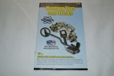 WHITE'S ~ HUNTING TIPS AND TRICKS ~ WHITE'S ELECTRONICS, INC. ~ NEW OLD STOCK