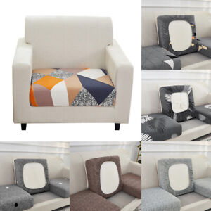 1/2/3 Seaters Sofa Couch Printing Seat Cushion Cover Case Protector Home Decor