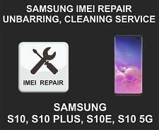 Samsung IMEI Repair, Unbarring, Cleaning, Samsung S10, S10 Plus, S10E, S10 5G