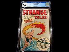 "Strange Tales #107 CGC 7.0  -  ""Stan Lee""! Sub-mariner vs Human Torch!"