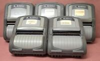 Zebra QL420 PLUS MOBILE RUGGED THERMAL LABEL WIRELESS BARCODE PRINTER -Lot of 5