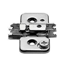 (10 pack) Blum Cam Hinge Mounting Plate - Wood Screw - 0mm - 173H7100