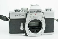 Minolta SRT 101 35mm film camera relfex analogica minolta md lenses