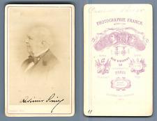 Casimir Perier CDV, Vintage albumen  Carte de Visite, Jean Casimir-Perier, né le