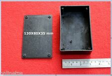 Plastic Enclosure Cabinet Box 130x80x35 mm For Electronic Circuit-4 Pc