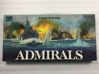 Vintage Admirals Strategy Board Game by Parker Games 1972, 100% Complete