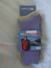 Ladies Trespass Walking Socks Pack of two Thermal Ladies Socks size 6 - 9