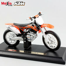 1/18 scale child motorcycle diecast KTM 450 SX-F Motocross model toy Racing cars