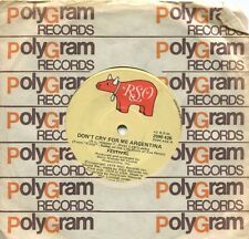 "FESTIVAL - DON'T CRY FOR ME ARGENTINA - 7"" 45 RECORD -"