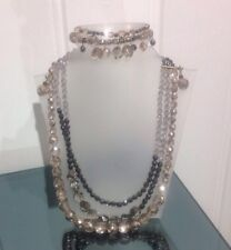 Brand New Linea Raffaelli Necklace, Bracelet And Earrings Set