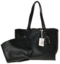 NWT Jessica Simpson Woman's Tote W/Clutch, Black Color, MSRP: $108.00