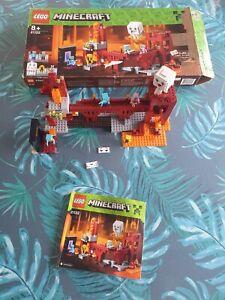 Lego Minecraft 21122 : La forteresse du nether / The Nether Fortress