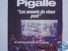PIGALLE LES AMANTS DU VIEUX PONT  CD PROMO