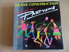 """BRASS  CONSTRUCTION  PARTYLINE   7"""" VINYL"""