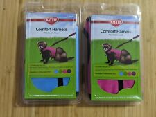 Lot of (2) New Large Kaytee Comfort Harness Plus Stretchy Leash