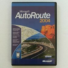 Microsoft AutoRoute 2004 - UK, France, Germany, Spain, Europe Road Map Software