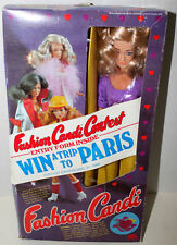 """MEGO FASHION CANDI CONTEST 11 1/2"""" COLOR HAIR DOLL 1979 W/BOX COMPLETE"""