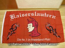 Fahnen Flagge Kaiserslautern Fan Die NR.1- 90 x 150 cm