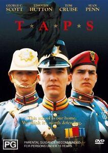 Taps (DVD, 2004) R4 George C Scott_VGC_Tom Cruise