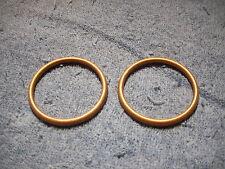 Copper Doughnut Exhaust Gaskets, Shovelhead  1966-1984