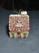 Mr. Christmas Music Box Porcelain House Ornament