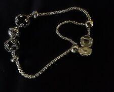 Thomas Sabo Silver Charm Bracelet with Karma Beads