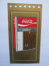 1960s Cavalier CD6-448 Can Cooler Coca-Cola Vending Machine Specification Card