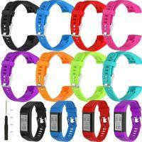 Für Garmin Vivosmart HR+ Plus GPS Uhr Ersatz Silikon Armband Uhrenarmband Strap