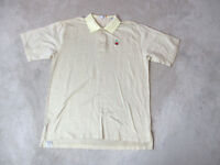 Peter Millar Golf Polo Shirt Adult Extra Large Yellow Black Golfer Rugby Casual