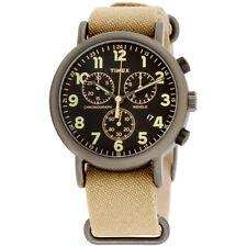 Timex Weekender Black Dial Canvas Strap Unisex Watch TW2P85200