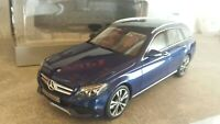 Norev 1:18 Mercedes-Benz C-Klasse T-Modell Brillantblau
