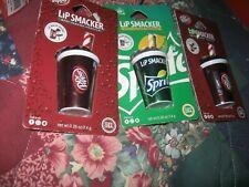Lip Smacker Soda Balms Flavors 2 Dr. Peppers & 1 Sprite