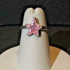 Child's Adjustable Pink Star Ring (53118)