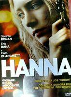 HANNA (2011) un film di Joe Wright - Con Saorirse Ronan - DVD EX NOLEGGIO - SONY