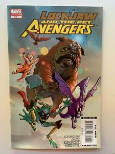Lockjaw and the Pet Avengers #1 1st Throg Marvel Comics 2009 - Auction 2