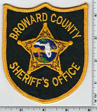 Broward County Sheriff's Office (Florida) shoulder patch - new from 1993