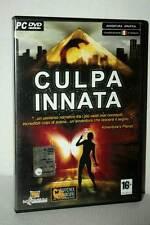 CULPA INNATA GIOCO USATO OTTIMO STATO PC DVD VERSIONE ITALIANA GD1 45908