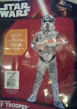 NWT Star Wars The Clone Wars  Arf Trooper Costume and mask large 12-14 pu in bkn