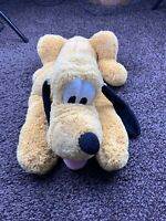 Official Disney Store Stamped Pluto Soft Toy Plush 16 Inches Great Condition