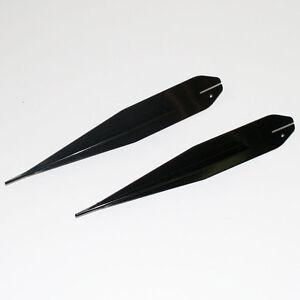 Erdspieße groß für Schwibbogen Lichterbogen Metall schwarz *NEU* Außen