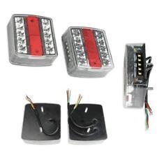 2x LED Anhänger Rücklicht Rückleuchten Wohnwagen Licht Anhängerbeleuchtung 12V