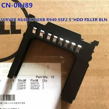 """RJ8J9 FOR GEN 14 POWEREDGE SERVER R640 R740 R740xd R940 SFF 2.5"""" HDD FILLER BLN"""